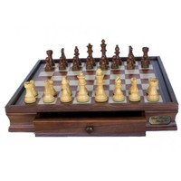 Deluxe Dal Rossi Chess Set 48cm