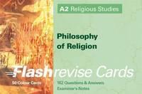 A2 Religious Studies Philosophy of Religion: Flash Revise Cards by Gordon Reid image