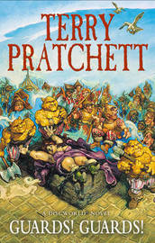 Guards! Guards! (Discworld 8 - City Watch) (UK Ed) by Terry Pratchett