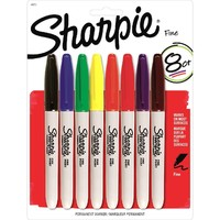 Sharpie Fine Tip Markers Pack of 8