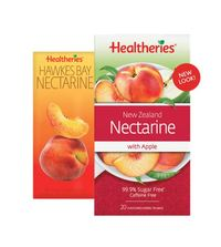 Healtheries New Zealand Nectarine with Apple Tea (Pack of 20)
