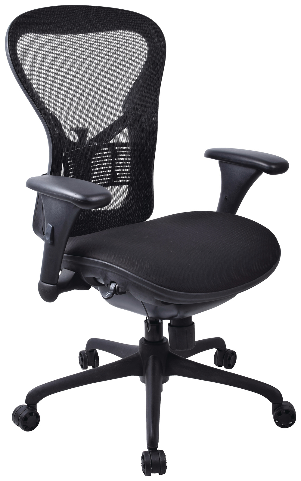 Workpro Operator Slide Mesh Back Chair (Black) image