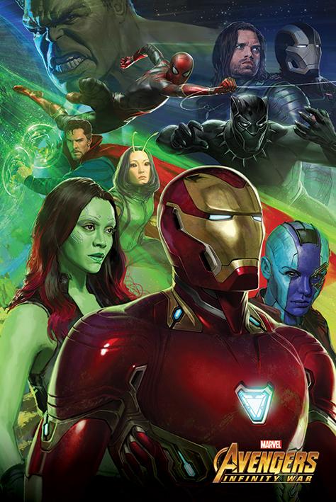 Avengers Infinity War Maxi Poster - Iron Man (728)