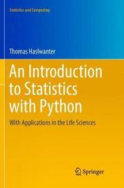 An Introduction to Statistics with Python by Thomas Haslwanter image
