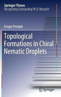 Topological Formations in Chiral Nematic Droplets by Gregor Posnjak
