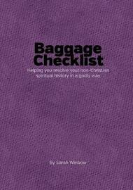 Baggage Checklist by Sarah Winbow