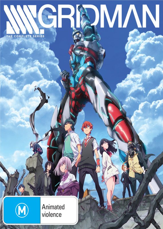 Ssss.gridman Complete Series DVD / Blu-ray Combo (Limited Edition) on DVD, Blu-ray