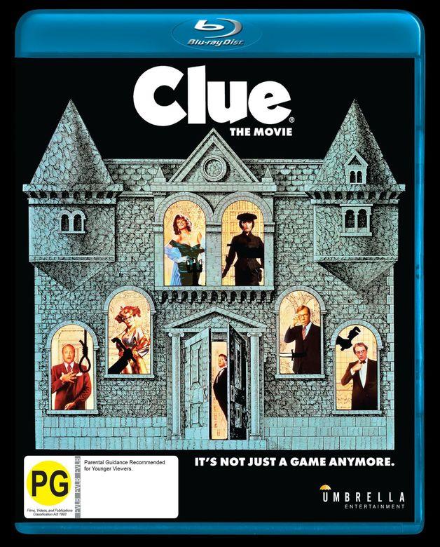 Clue on Blu-ray