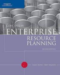 Concepts in Enterprise Resource Planning by Bret Wagner image