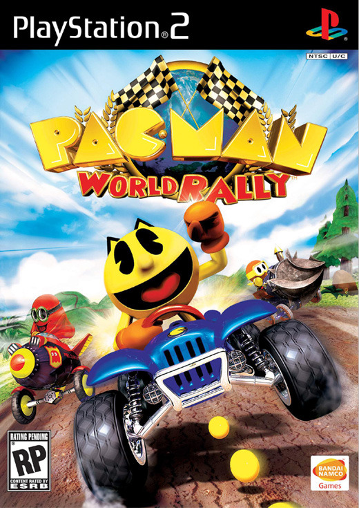 Pac-Man World Rally for PlayStation 2