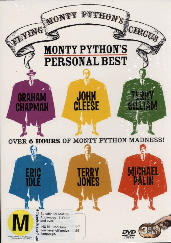 Monty Python's Flying Circus - Monty Python's Personal Best (3 Disc Set) on DVD