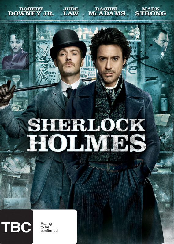 Sherlock Holmes on DVD