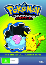 Pokemon - Advanced Battle 8.1 / 8.2 (2 Disc Set) on DVD