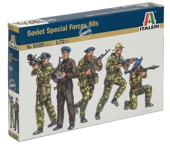 Italeri: 1:72 Russian Para Spetsnaz - Model Kit
