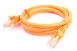 8ware: Cat 6a UTP Ethernet Cable Snagless - 1m (Orange)