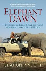 Elephant Dawn by Sharon Pincott