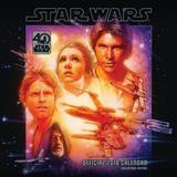 Star Wars 40th Anniversary 2018 Square Wall Calendar