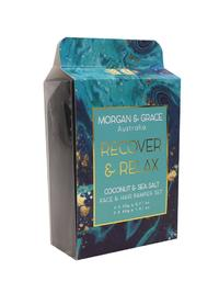 Morgan & Grace Face Pamper Packs - Recover & Relax (Coconut)