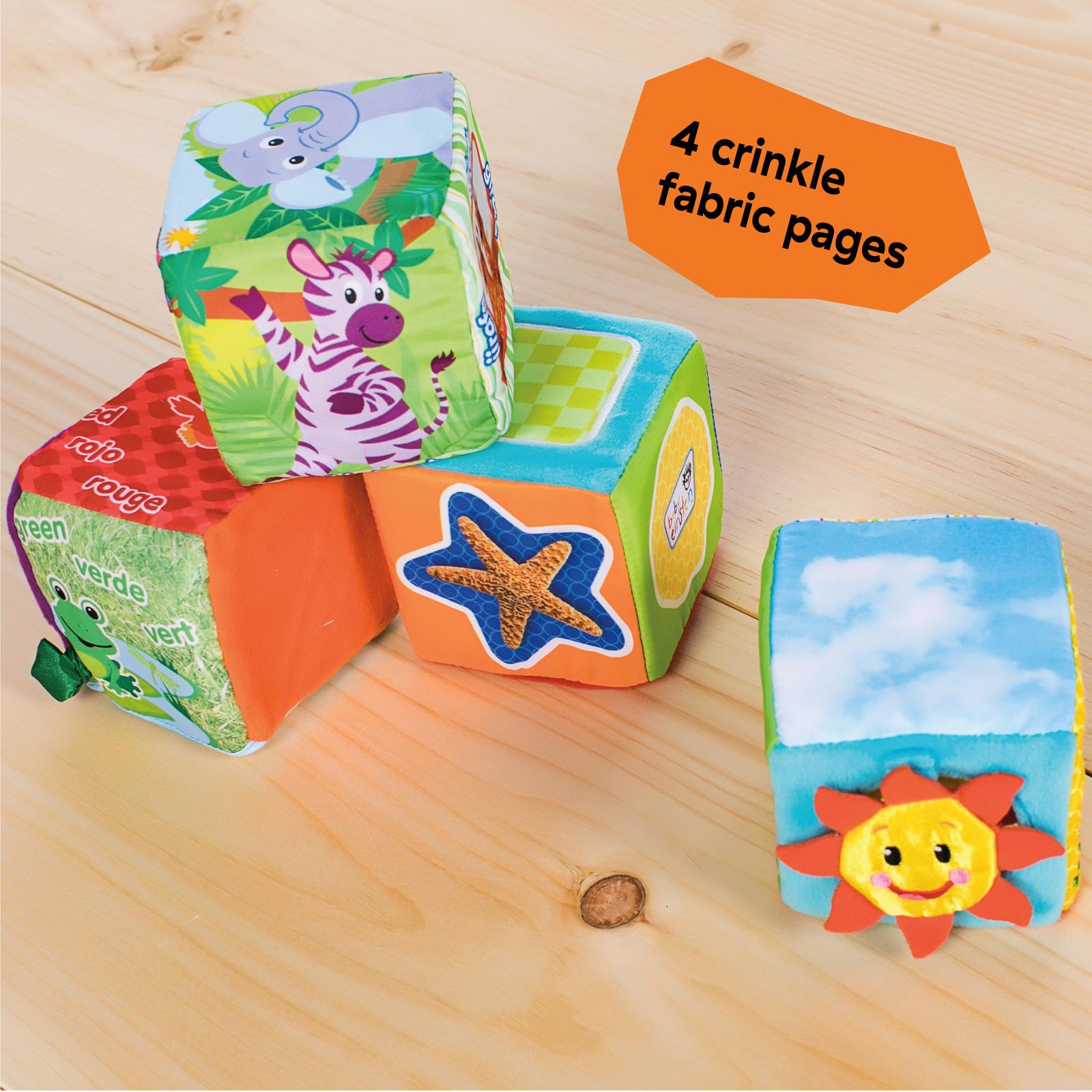 Baby Einstein: Explore & Discover - Soft Blocks image