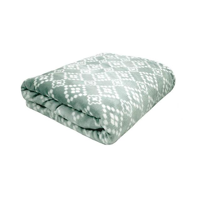 Bambury King Chiquita Ultraplush Blanket (Eucalyptus)