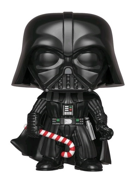 Star Wars: Holidays - Darth Vader (with Candy Cane) Pop! Vinyl Figure (with a chance for a Chase version!)