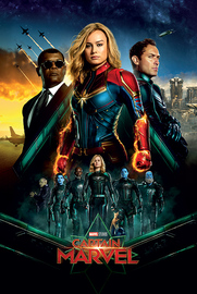 Captain Marvel Maxi Poster - Epic (997)