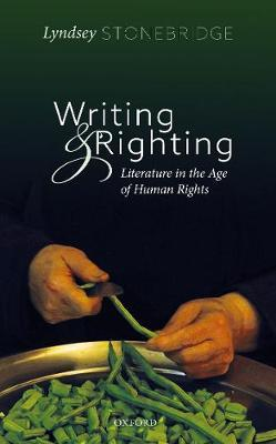 Writing and Righting by Lyndsey Stonebridge