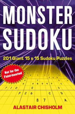 Monster Sudoku by Alastair Chisholm image