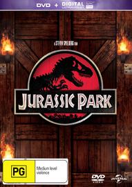 Jurassic Park on DVD