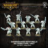 Warmachine: Retribution of Scyrah Dawnguard Sentinels Unit