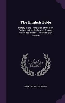 The English Bible by Hannah Chaplin Conant image