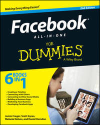 Facebook All-in-One For Dummies by Jamie Crager