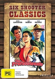 The Professionals (1966) (Six Shooter Collection) on DVD
