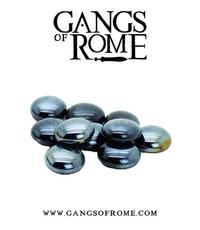 Gangs of Rome: Black Activation Pebbles (10)