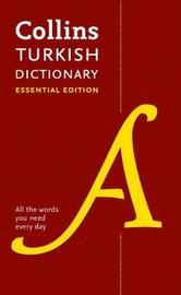 Collins Turkish Essential Dictionary by Collins Dictionaries