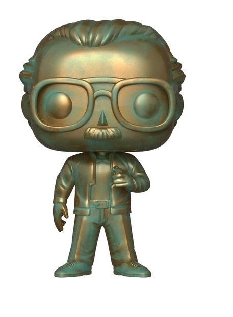 Stan Lee (Patina Ver.) - Pop! Vinyl Figure