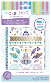 Make It Real: Metallic Tattoos - Purple