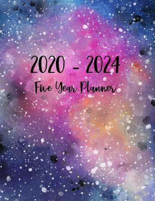 2020-2024 Five Year Planner by Natasha Rodriguez