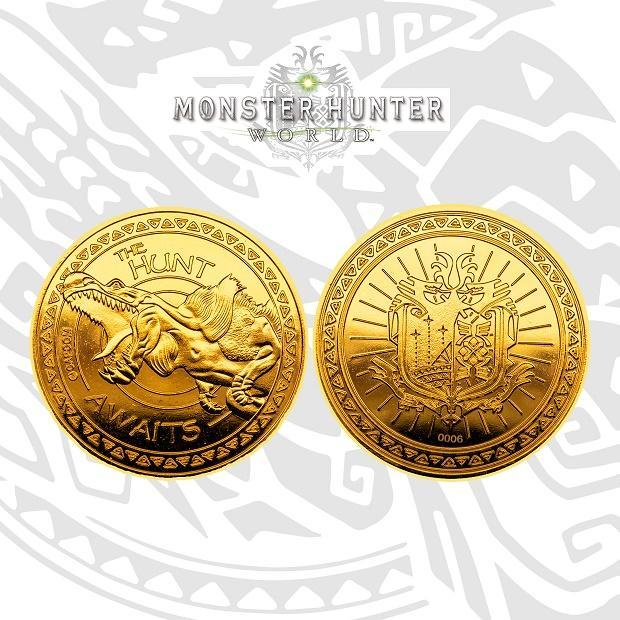 Monster Hunter: Collectable Gold Coin - Limited Edition