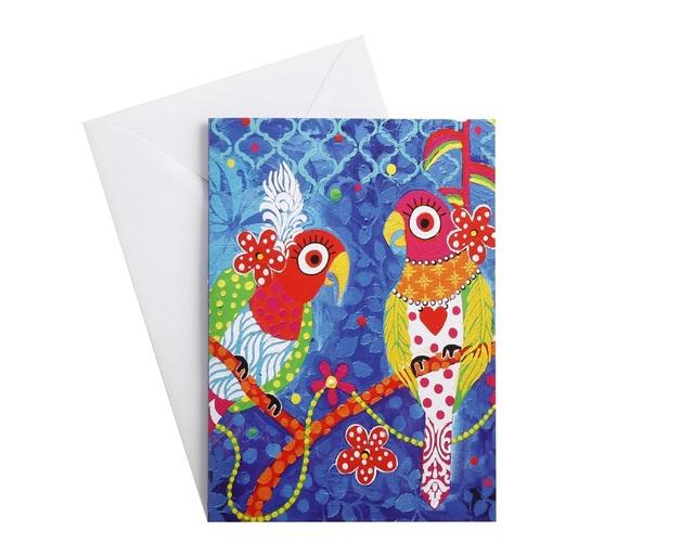 Maxwell & Williams: Love Hearts Greeting Card - Rainbow Girls