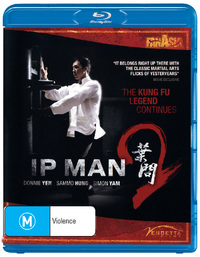 IP Man 2 on Blu-ray