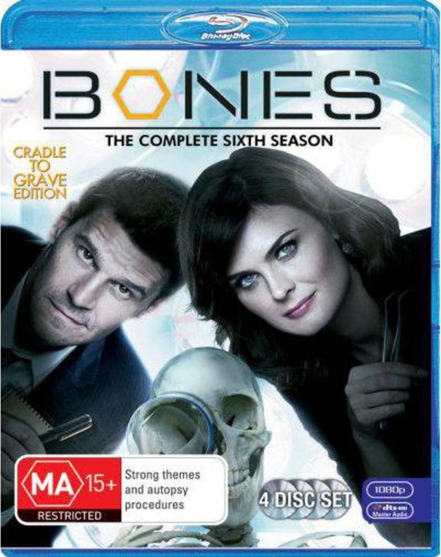 Bones - The Complete Sixth Season on Blu-ray