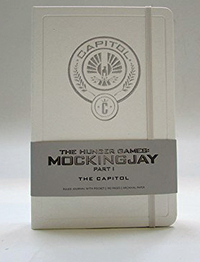 Hunger Games Capitol Hardcover Ruled Journal (Large) by Insight Editions image