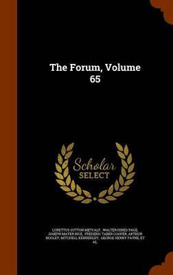 The Forum, Volume 65 by Lorettus Sutton Metcalf image
