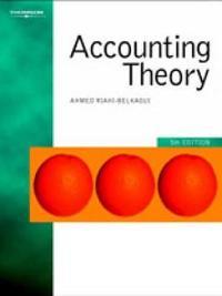 Accounting Theory by Ahmed Riahi-Belkaoui