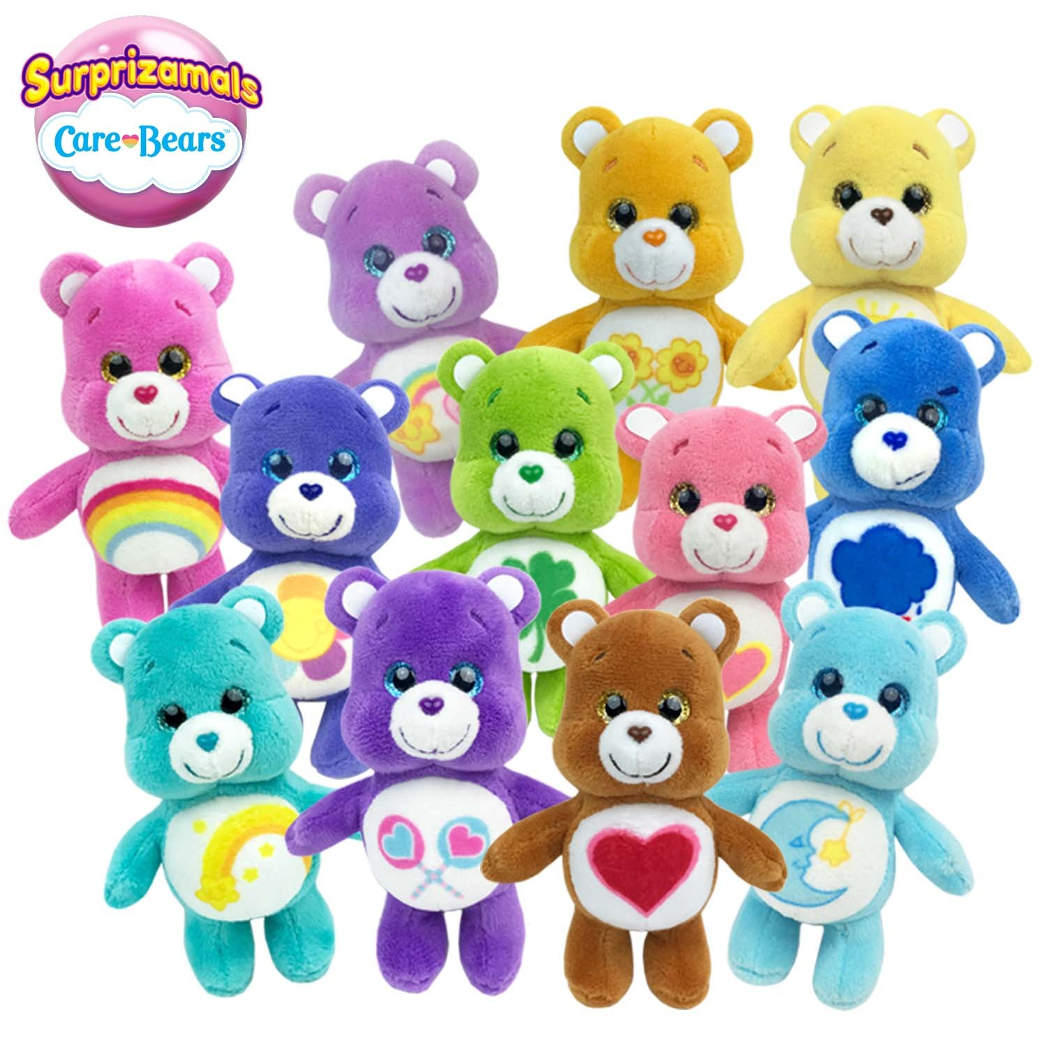 "Surprizamals: Carebears 2.5"" Plush (Blind Bag) image"