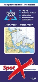 Spot X Rangitoto Island the Noises Chart: Fishing Spots by Spot X