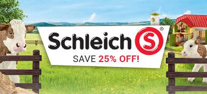 25% off Schleich