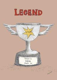 Poet & Painter: Legend That's You