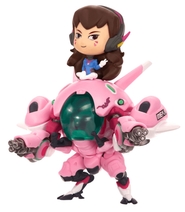 Overwatch: Cute but Deadly - D.Va (with Meka) Figure